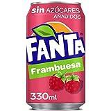 Fanta Sin Azúcar Frambuesa 330 ml