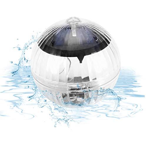 Solar Schwimmkugel LED,Solar Schwimmende Pool Licht,IP65,Farbwechsel LED,Poolbeleuchtung,Solarbeleuchtung,Teichbeleuchtung Solarkugel Dekolicht,für Party,Weihnachten,Garten, Baum,Teich Swimming Pool