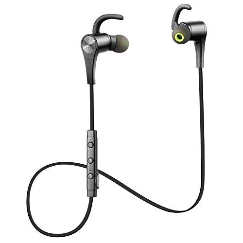 SoundPEATS(サウンドピーツ) Q12 Bluetooth ワイヤレス イヤホン マイク付き ブラック/ブラック