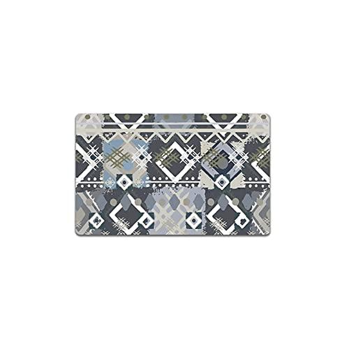 Dpliu 2 Piezas alfombras de Cocina Alfombra Puesta Anti- Fatiga Anti- Fatiga Impermeable a Prueba de Aceite Alfombra de Piso Comodidad de pie for la Oficina de la casa (Size : 45 * 75cm(1pcs))