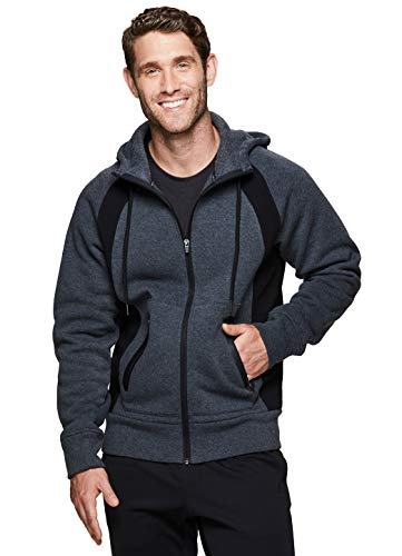 RBX Active Men's Workout Gym Pullover Hoddie Gym Multi Charcoal M
