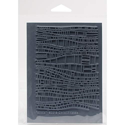 Great Create Christi Friesen Texture Stamp 4.25'X5.5', Small Bow