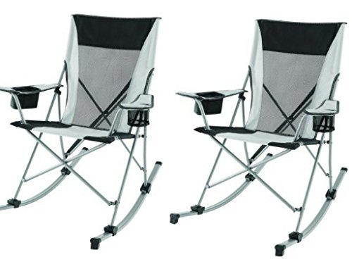 Ozark Trail DurableTension Rocking Chair (Pack of 2)