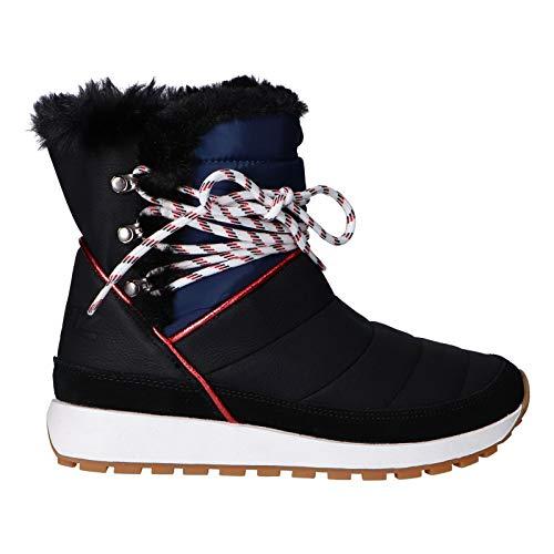 Pepe Jeans London Dean Ice, Zapatillas Mujer, Negro (Black 999), 37 EU