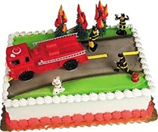 Cake Decorating Kit CupCake Decorating Kit (Fire Truck)