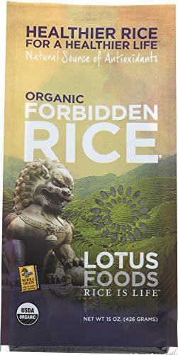 Lotus Foods, Rice Forbidden Black Organic, 15 Ounce