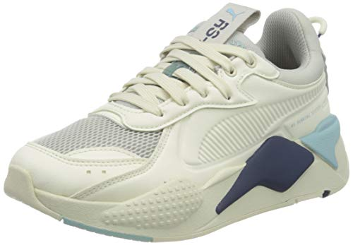 PUMA RS-X Master, Zapatillas Unisex Adulto, Blanco (Whisper White/Aquamarine), 42 EU