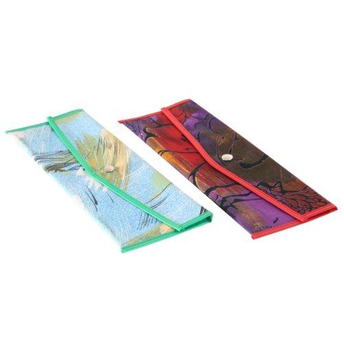 Axentia 226235 Bestecktasche farblich sortiert