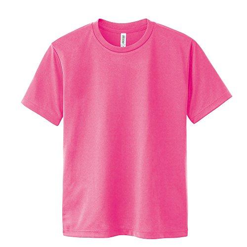 [グリマー] 半袖 4.4oz ドライTシャツ (クルーネック) 00300-ACT 蛍光ピンク 3L (日本サイズ3L相当)