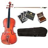 Cecilio CVA-400 16.5-Inch Solid Wood Flamed Viola