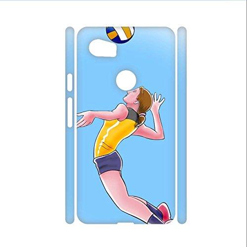 Telefonschale Aus Hartplastik F¨¹r Frauen Anders Zum Google Pixel 2 XL Haben Volleyball