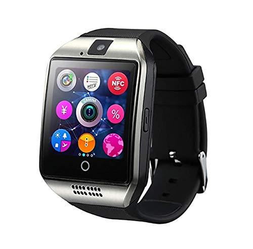 LIKCO Inteligente Reloj Multifunción, con Ranura para Tarjeta TF Cámara Bluetooth SIM De Fitness Control De Actividad del Deporte del Reloj para Android Hombres Mujeres Niños