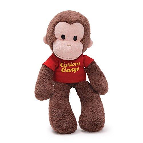 Gund Curious George Floppy Take a Long - Coco der Affe - Plüschtier, Stofftier, 38cm aus USA
