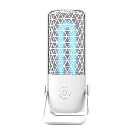 Lixada Tragbare kleine UV-Lampen/UV Ozon Lampe UV-C Lampe für Hotel Home Travel Desinfek-Tion Tragbare kleine UV-Lampe UV-Licht für Hotel Home Travel