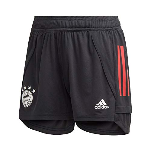 adidas Damen 20/21 FC Bayern Training Short Trainingsshort, Black/Fcbtru, 2XL