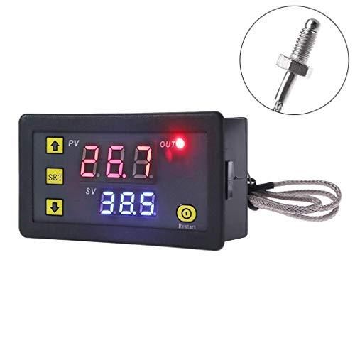 LNDDP Digitaler Temperaturregler -60~500°CK Typ M6 Sensor Thermoelement Sensor Eingebauter Thermostat