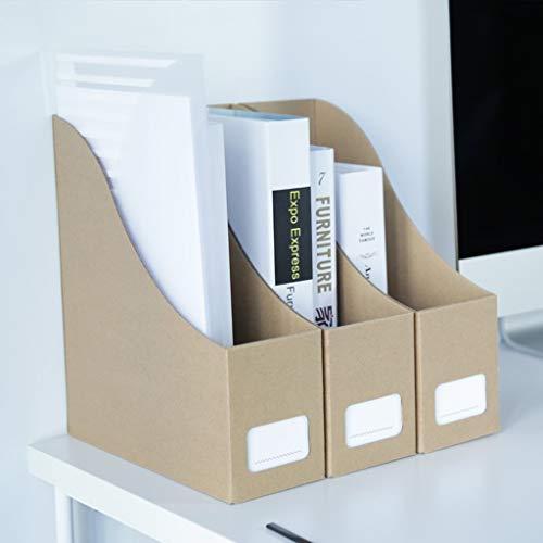 WJF Office Desk-Dateikorb Dateihalter Stand Buchen Ordner Aufbewahrungsbox Schreibtisch Lagerung Buchen Datenrahmen Desktop Dateikasten Studentenwohnheim Vorräte (größe : #2)