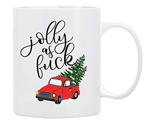 Christmas Coffee Mug, Holiday Coffee Mug, Funny Christmas Movie Mugs Gift from Family, Friends – Mug in Decorative Christmas Gift Box,11 Oz