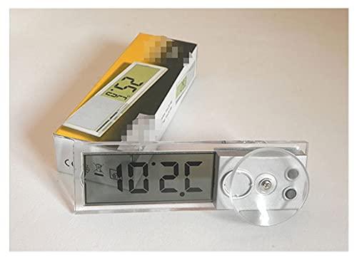 Sun Can Coche LCD Reloj digital Termómetro Auto Window Número inteligente al aire libre Mostrar instrumentos de temperatura de la pantalla Accesorios para ahorrar energía ( Color : Thermometer )