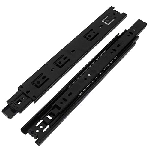 10 inch black drawer slides - 3