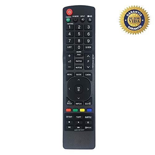 MYHGRC Nuevo Mando a Distancia de Repuesto para el Control Remoto del televisor LG AKB72915207 Ajuste para Varios televisores LG: no se Requiere configuración del televisor Control Remoto Universal