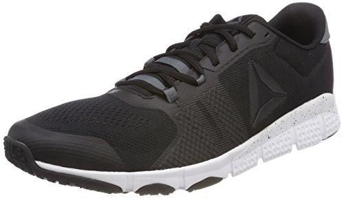 Reebok Trainflex 2.0, Zapatillas de Deporte para Hombre, Negro (Black/Alloy/Wht 000), 43 EU