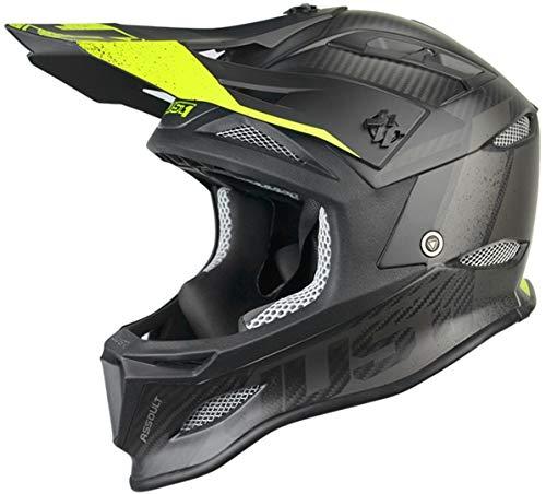 Just 1 Helmets Just1 Jdh Assault Black-Yellow + MIPS XXL Casco de...