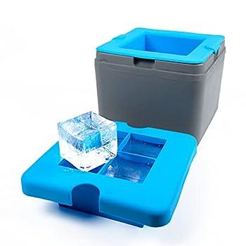 True Cubes Clear Ice Cube Tray  4-cube tray