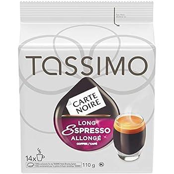 Tassimo 14-t Discs Carte Noire Long Espresso 110g Made in Canada