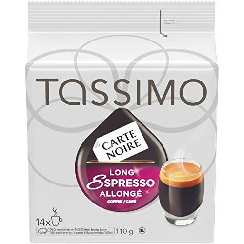 Tassimo 14-t Discs Carte Noire Long Espresso 110g, Made in Canada