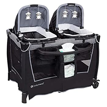 Baby Trend Retreat Twins Nursery Center Quarry