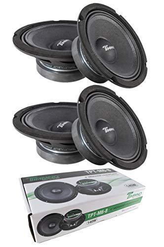 4X 6 Mid Range Loud Speakers Pro Audio 560W 8 Ohm Timpano TPT-M6-8