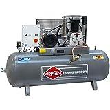 Airpress® HK 1500-500 - Compresor de aire comprimido (7,5 kW, máx. 14 bares, 500 litros de caldera) conector de alimentación 400 V.
