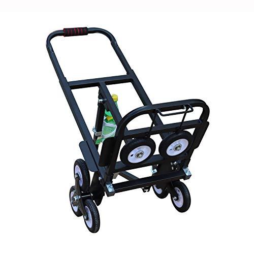 台車 階段 昇降 タイヤキャリーカート 荷物運ぶ 折りたたみ 引っ越し車 荷重190kg 静音 (Style 1)