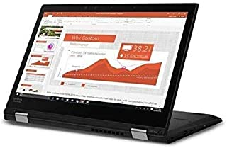 "Lenovo ThinkPad L390 Yoga 13.3"" FHD 300nits 2-in-1 Touchscreen Laptop, Intel Core i3-8145U up to 3.9GHz, 8GB DDR4, 256GB N..."