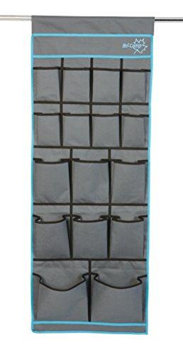 Bo-Camp Multifunktions-Hängetasche mit 16Fächern, blau