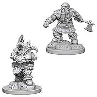 WizKids D & D Nolzur's Marvellous Miniatures: Male Dwarf Barbarian