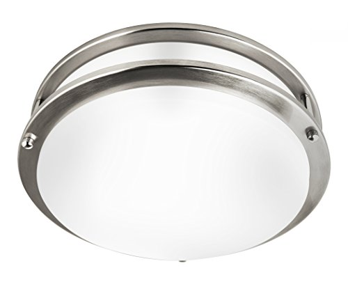Hyperikon 14 Inch Ceiling Light, 100 Watt Replacement (25W), LED Flush Mount, 4000K Daylight,...