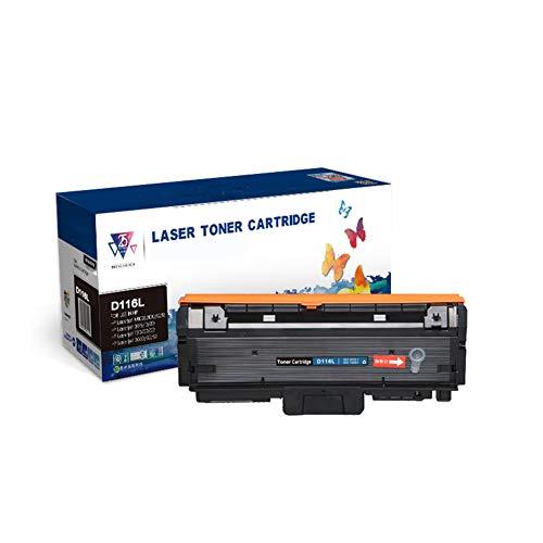 GBY tonercartridge met chip voor Samsung Easy tonercartridge MLT-D116L M2676N M2826 M2876HN laserprinter M262626D M2675F M2826ND All-in-One 116S-cartridge, kan ca. 3500 afdrukken.