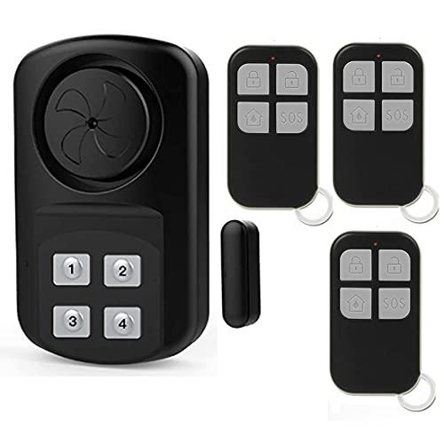 Outdoor Door Gate Alarm Wireless Weatherproof Entry Door Sensor Alarm with Remote Control for Pool,Fence,Home,Kids Safety