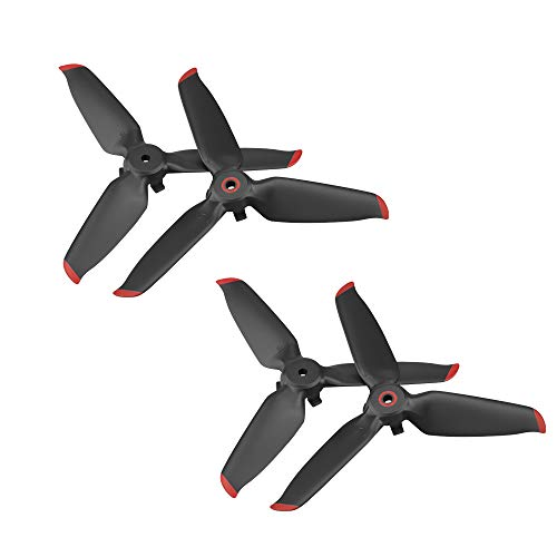 DERAY   5328S Propeller für DJI FPV Drohne, FPV Combo für FOV Racing Drohne, Fly more set   Quick Release Propeller   4 Stück / 2 Paar