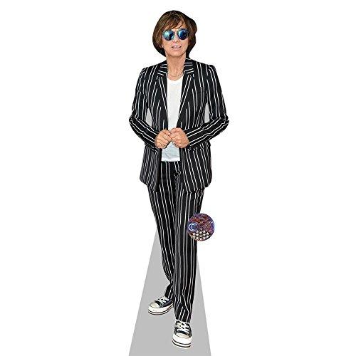 Celebrity Cutouts Gianna Nannini Pappaufsteller lebensgross