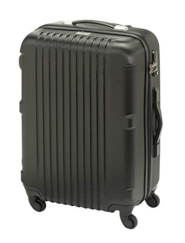 Princess Traveller Traveller San Francisco Scaler Collection Laptop Rollkoffer, 64 Liter, Black