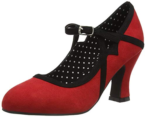 Joe Browns New Orleans Jazz Shoes, Zapatos Planos Mary Jane