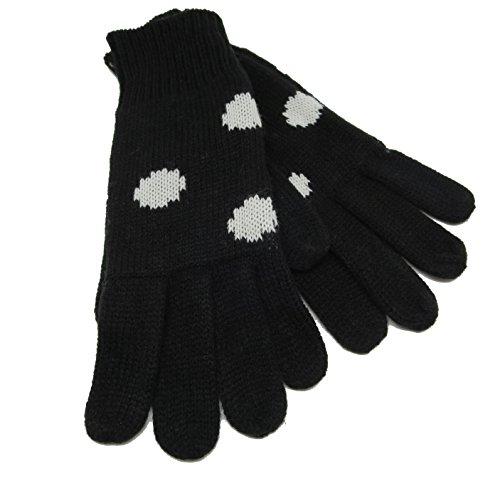 CODELLO 32098312 D09 [18] Poetry Grunge Knit Handschuhe - schwarz (COL 07)