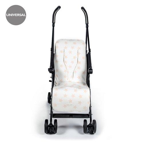Pasito a Pasito Elodie - Colchoneta silla universal, color beige