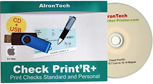 Price comparison product image Check Print'R+ : Check Printing for Mac.