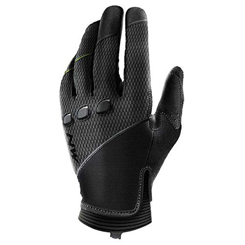 Northwave Spider Fahrrad Handschuhe lang schwarz 2021: Größe: S (7)