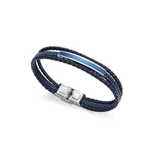 Viceroy Pulsera Magnum 15080P01013 Hombre Piel Azul
