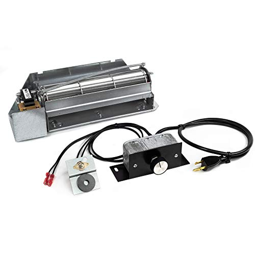 FireplaceBlowersOnline FBK-250 Fireplace Blower Kit for Astria, Lennox and Superior, Rotom HB-RB250 | Ball Bearing, Quiet, High Air Flow, Energy Efficient